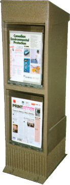 StreetSmart SS#11 Multi Publiction Rack by Go Plastics