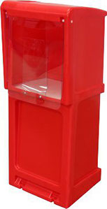 StreetSmart SS#14 Magazine or Quarter Folds Publiction Rack by Go Plastics