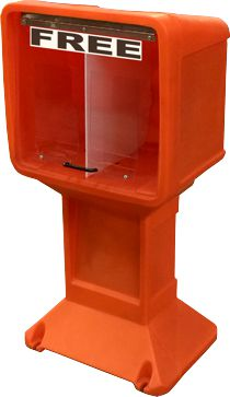 StreetSmart SS#3 Magazine Publiction Rack by Go Plastics