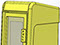 StreetSmart SS#5 Tabloid Rack in #19 Yellow by Go Plastics