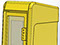 StreetSmart SS#5 Tabloid Rack in #3 Yellow by Go Plastics