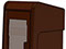 StreetSmart SS#5 Long Door Tabloid Rack in 15 Brown by Go Plastics