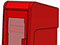 StreetSmart SS#5 Long Door Tabloid Rack in 17 Red by Go Plastics