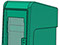 StreetSmart SS#5 Long Door Tabloid Rack in 18 Teal by Go Plastics