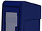 StreetSmart SS#5 Long Door Tabloid Rack in 8 Blue by Go Plastics